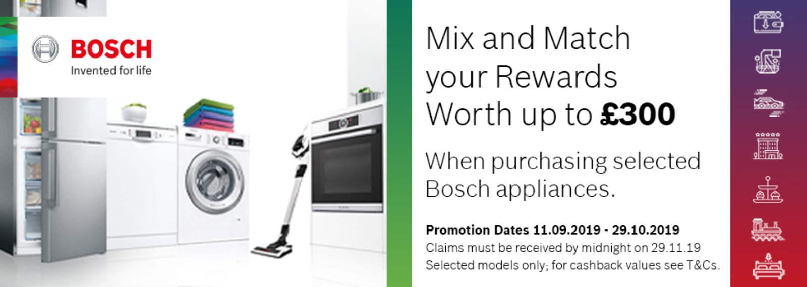 BOSCH Mix&Match offer