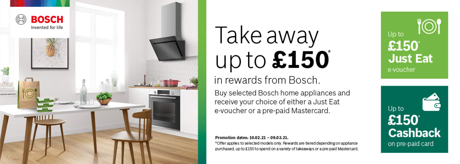 BOSCH Dine in or Out 2021