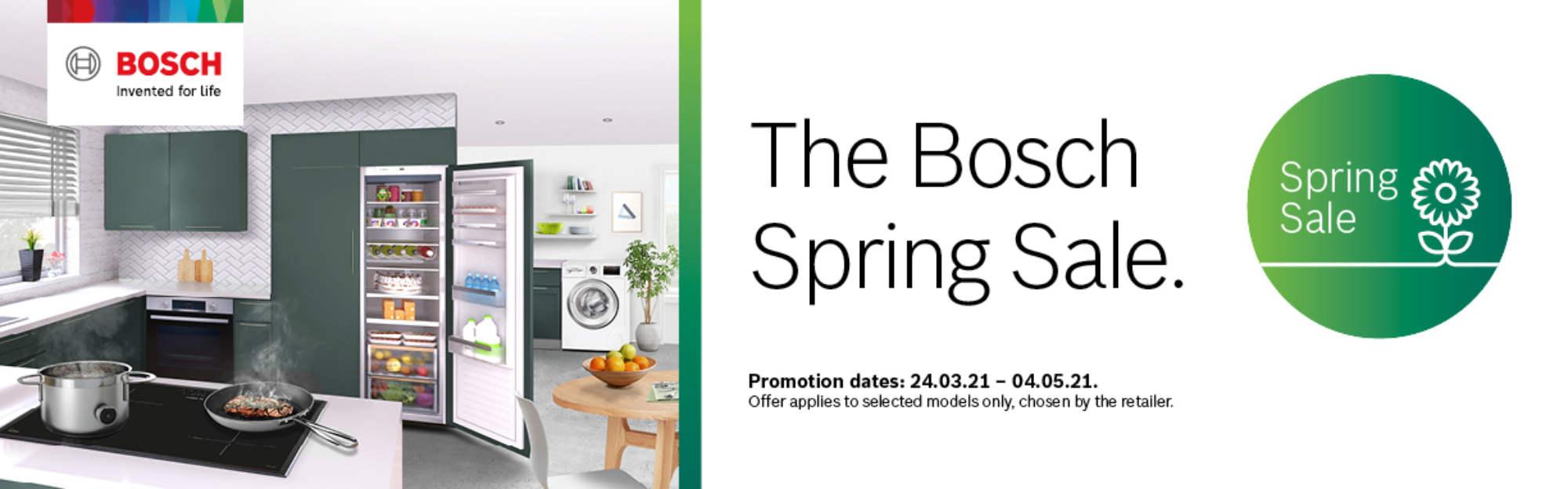 BOSCH Spring 2021 Promotion