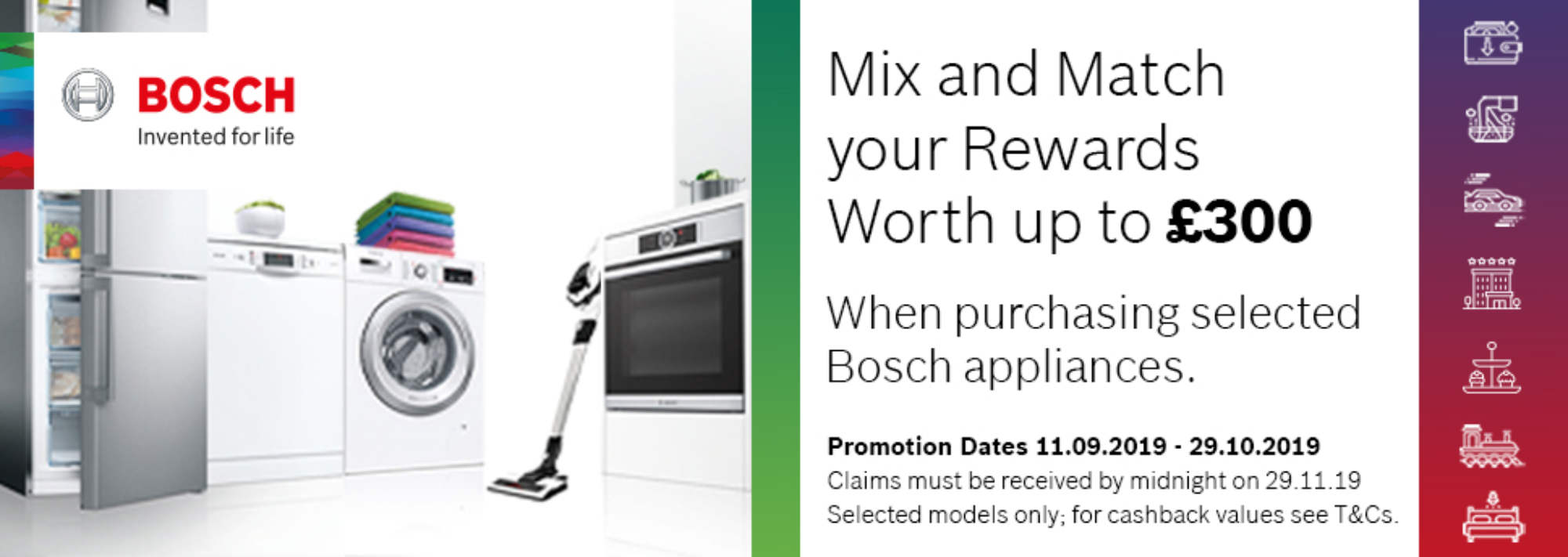 BOSCH Mix&Match offer