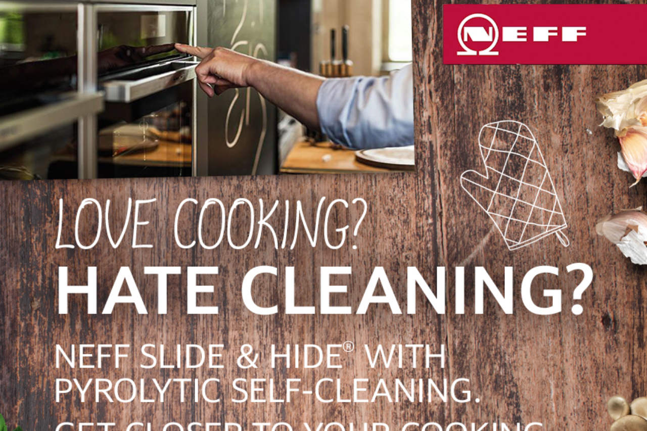 NEFF Slide&Hide® with Pyrolytic cleaning
