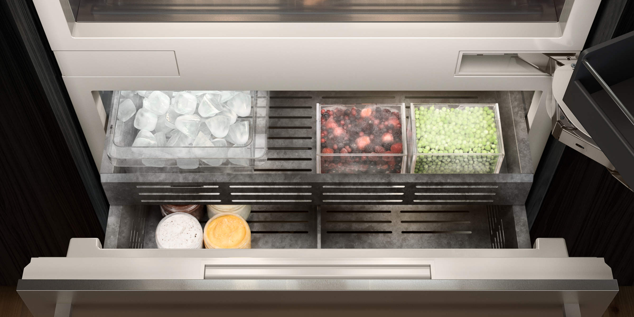 Gaggenau kitchen appliances fridge