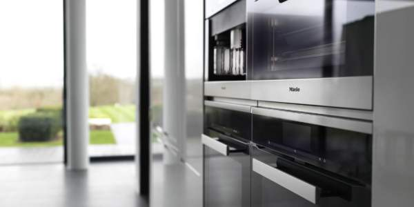 Miele kitchen and appliances