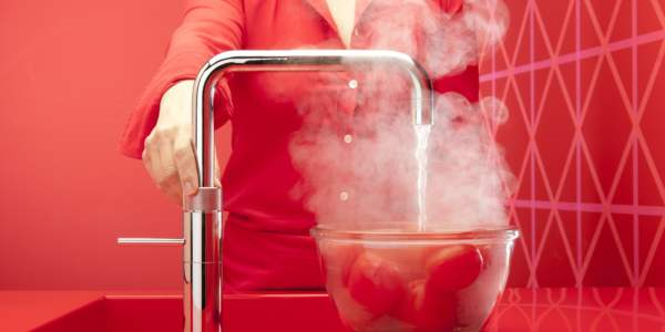 Quooker Fusion Square Chrome Tomatoes
